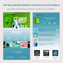 MILLIONAIRE MINDSET Inspirational Media Bundle Pack